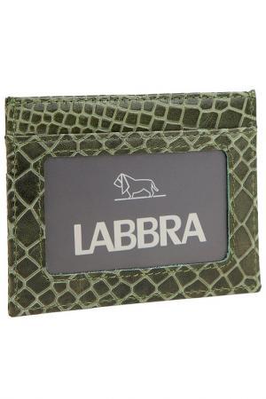 Визитница Labbra. Цвет: зеленый