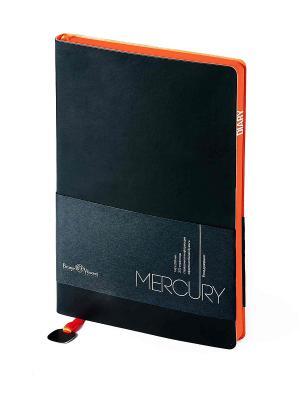 Ежедневник Mercury, А5 Bruno Visconti. Цвет: черный