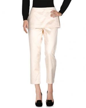Повседневные брюки MAISON FLÂNEUR. Цвет: слоновая кость