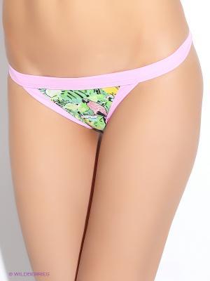 Плавки Mystisite. Цвет: розовый, зеленый