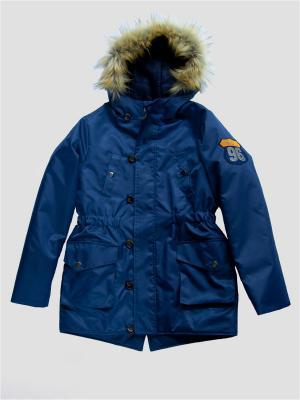 Куртка Карамелли. Цвет: синий