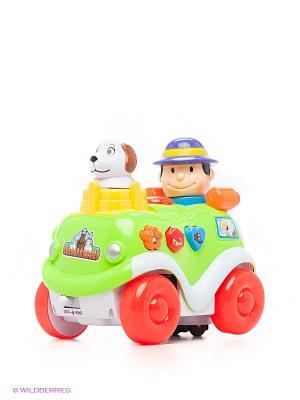 Музыкальная игрушка Машинка VELD-CO. Цвет: зеленый, красный, желтый