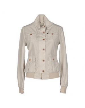 Куртка YES ZEE BY ESSENZA. Цвет: светло-серый