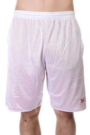 Шорты  Core Reversible Shorts White/Red K1X. Цвет: белый,красный