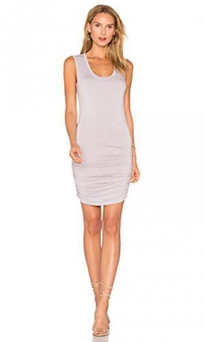 Платье mavie Michael Stars. Цвет: серый