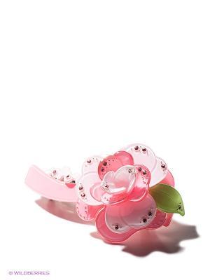 Заколка Bijoux Land. Цвет: розовый