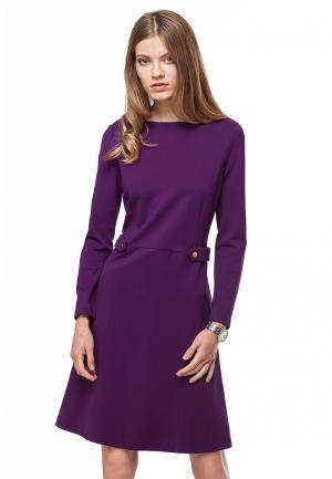 Платье Vilatte. Цвет: фиолетовый