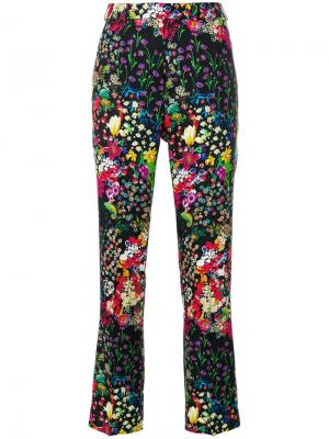 Floral print cropped trousers Etro. Цвет: многоцветный
