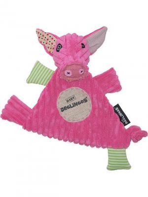 Игрушка Deglingos Свинка Jambonos - Baby. Цвет: розовый