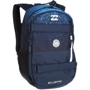 Рюкзак спортивный  No Comply Navy Billabong. Цвет: синий,голубой