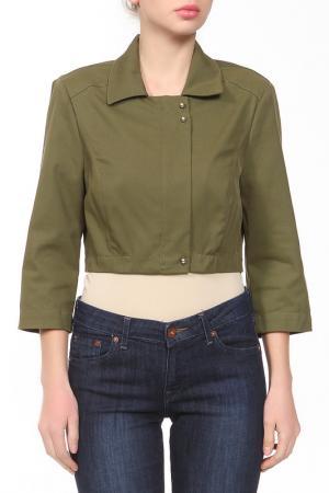 Пиджак Paola Joy. Цвет: болотный