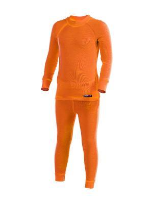 Термобелье-комплект Lynxy. Цвет: оранжевый
