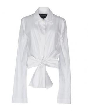 Pубашка PAPER London. Цвет: белый