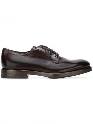 Классические туфли дерби Henderson Baracco. Цвет: коричневый