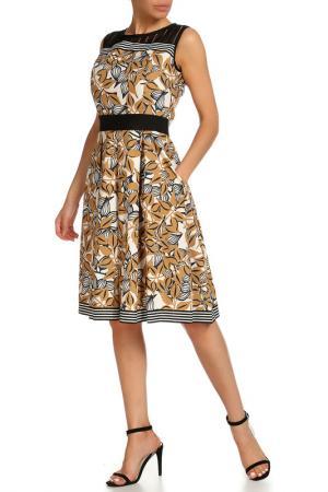Платье Beatrice. B. Цвет: коричневый