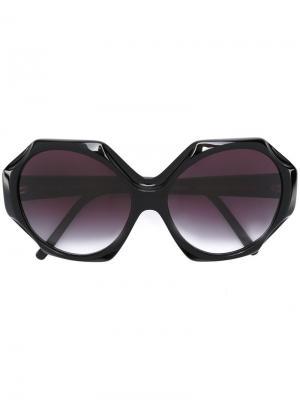 Солнцезащитные очки Iris Apfelx Selima Optique. Цвет: чёрный