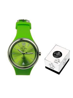 Часы наручные LA GEER. Цвет: светло-зеленый