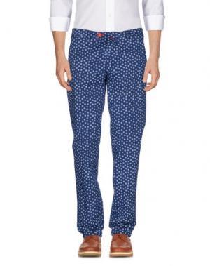 Повседневные брюки BARONIO. Цвет: грифельно-синий