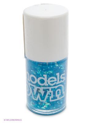 Лак для ногтей, Summer Sparkle Aqua Splash Models Own. Цвет: голубой