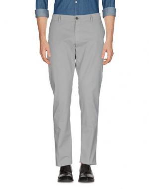 Повседневные брюки MAISON CLOCHARD. Цвет: светло-серый
