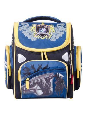 Ранец Across. Цвет: желтый, синий, черный