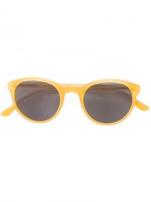 Солнцезащитные очки Frida YMC. Цвет: телесный