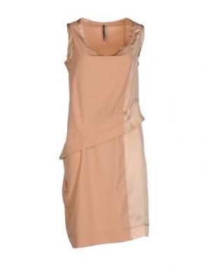 Короткое платье LIVIANA CONTI. Цвет: песочный
