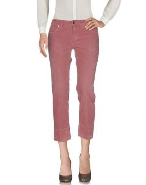 Повседневные брюки NOTIFY. Цвет: пастельно-розовый