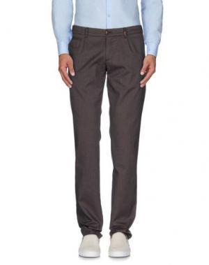 Повседневные брюки J.W. TABACCHI. Цвет: светло-коричневый