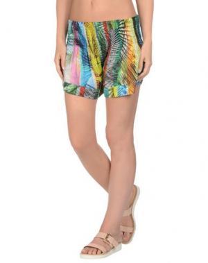 Пляжные брюки и шорты MISS BIKINI. Цвет: бирюзовый
