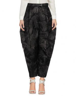 Повседневные брюки DELPOZO. Цвет: черный