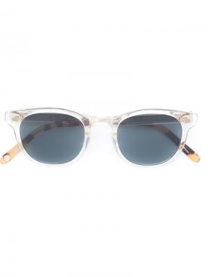 Солнцезащитные очки Warren Garrett Leight. Цвет: телесный