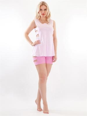 Пижама HELLO MODA!. Цвет: розовый
