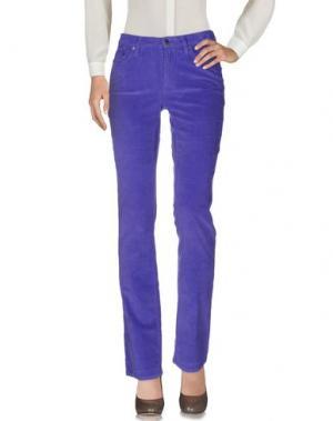 Повседневные брюки GANT. Цвет: фиолетовый