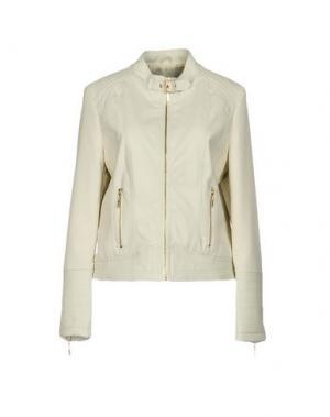 Куртка YES ZEE by ESSENZA. Цвет: слоновая кость