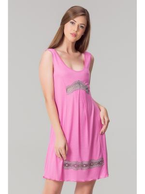 Сорочка Tesoro.. Цвет: розовый