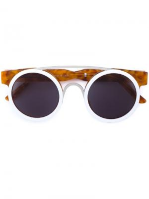 Солнцезащитные очки Sodapop I Smoke X Mirrors. Цвет: коричневый