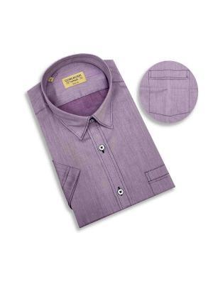Рубашка мужская Corleone.. Цвет: фиолетовый