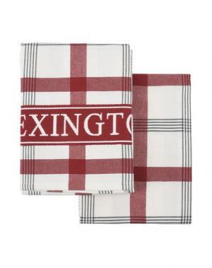 Домашняя одежда LEXINGTON. Цвет: красно-коричневый