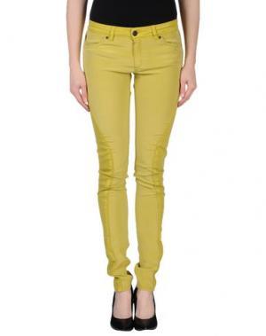 Повседневные брюки SUPERFINE. Цвет: кислотно-зеленый