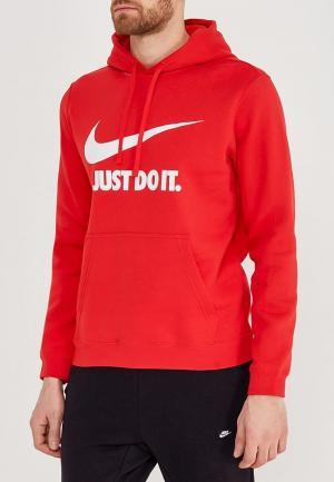 Худи Nike. Цвет: красный