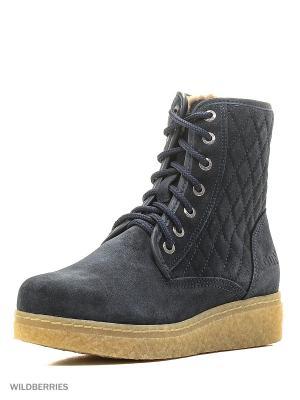 Ботинки женские GUT. Цвет: темно-синий