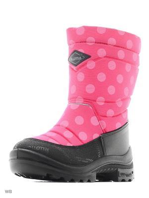 Сапоги KUOMA. Цвет: розовый, белый