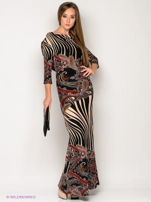 Платье МадаМ Т. Цвет: черный, бордовый, бежевый