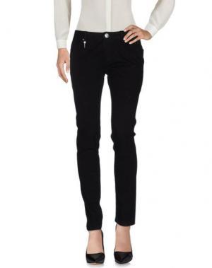 Повседневные брюки LEROCK. Цвет: черный