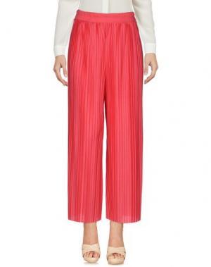 Повседневные брюки BERNA. Цвет: коралловый