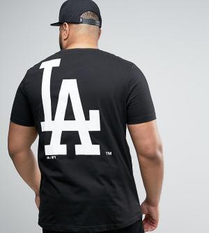 Majestic Длинная футболка PLUS L.A. Dodgers. Цвет: черный