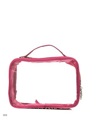 Косметичка Modis. Цвет: розовый, светло-коричневый