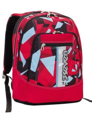 Рюкзаки и сумки на пояс SEVEN. Цвет: красно-коричневый