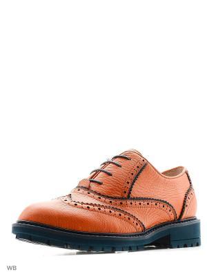 Туфли Covani. Цвет: оранжевый